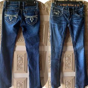 Women's size 27 Rock Revival Boot Cut Jeans